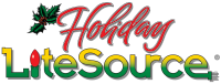 Holiday LiteSouce Logo - Christmas Decor