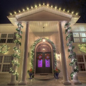 we provide our clients with - Residential Christmas Decorating Service