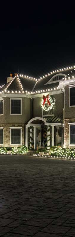 Residential Christmas light services